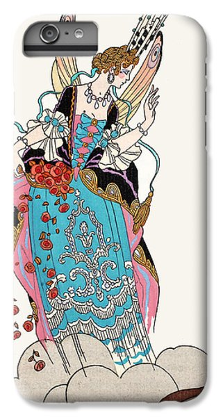 Fairy Dust iPhone 6s Plus Case - The Fairy Godmother by Georges Barbier