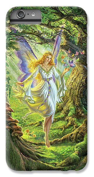 Fairy iPhone 6s Plus Case - The Fairy Queen by Mark Fredrickson