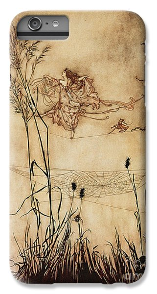 The Fairy's Tightrope From Peter Pan In Kensington Gardens IPhone 6s Plus Case by Arthur Rackham