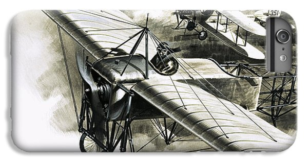 The First Reconnaissance Flight By The Rfc IPhone 6s Plus Case by Wilf Hardy