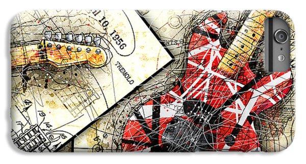 Van Halen iPhone 6s Plus Case - The Frankenstrat by Gary Bodnar