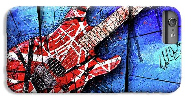 Van Halen iPhone 6s Plus Case - The Frankenstrat Vii Cropped by Gary Bodnar