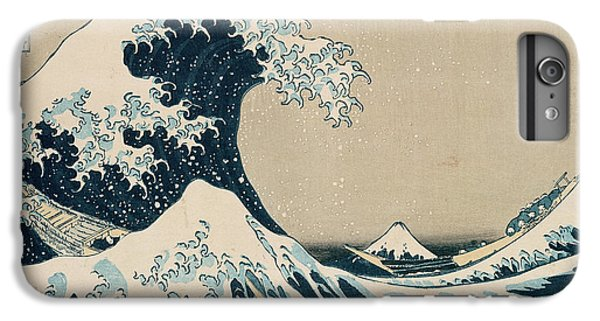 Boats iPhone 6s Plus Case - The Great Wave Of Kanagawa by Hokusai