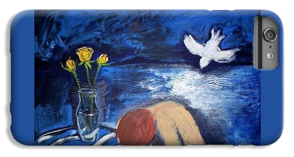IPhone 6s Plus Case featuring the painting The Healing by Winsome Gunning