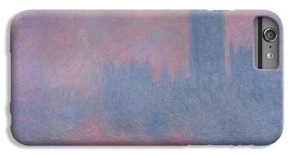 The Houses Of Parliament London IPhone 6s Plus Case by Claude Monet