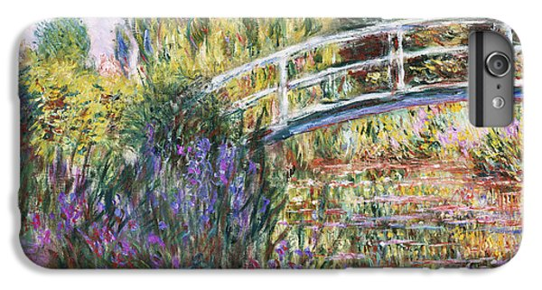 Impressionism iPhone 6s Plus Case - The Japanese Bridge by Claude Monet