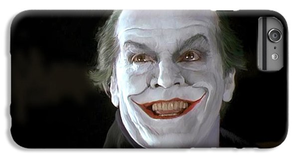 The Joker IPhone 6s Plus Case by Paul Tagliamonte