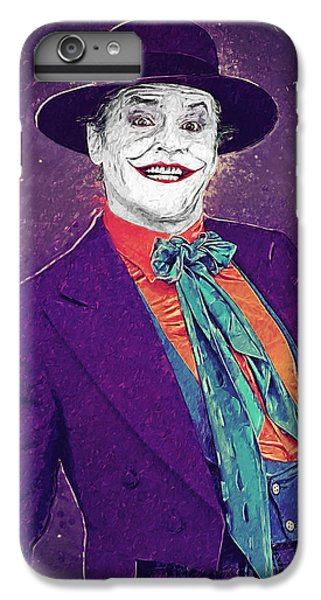 The Joker IPhone 6s Plus Case by Taylan Apukovska