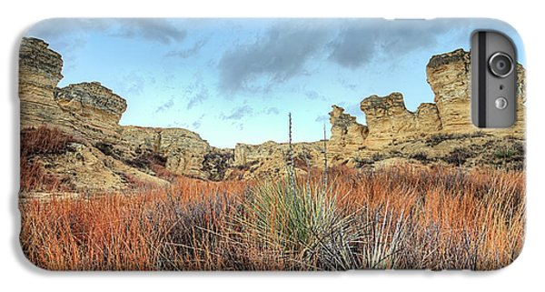 IPhone 6s Plus Case featuring the photograph The Kansas Badlands by JC Findley