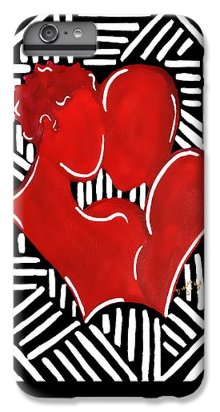The Kiss IPhone 6s Plus Case by Diamin Nicole