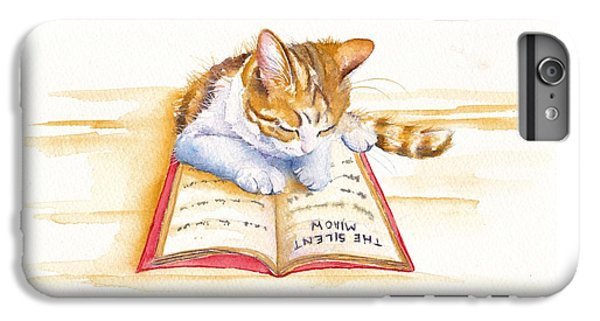 Cat iPhone 6s Plus Case - The Lesson by Debra Hall