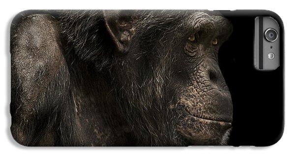 Chimpanzee iPhone 6s Plus Case - The Listener by Paul Neville