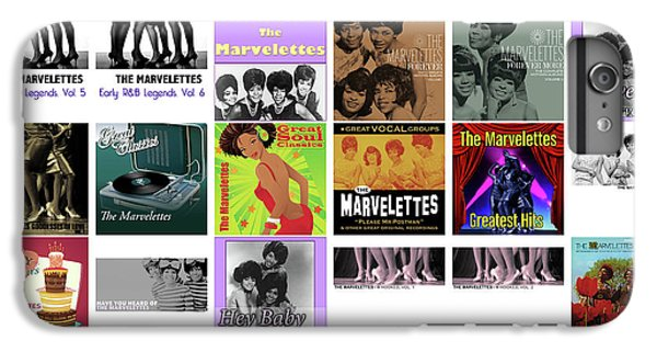 Rhythm And Blues iPhone 6s Plus Case - The Marvelettes 1 by Smart Aviation