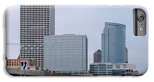 IPhone 6s Plus Case featuring the photograph The New Milwaukee Skyline by Randy Scherkenbach