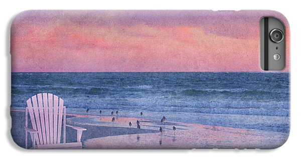 Sandpiper iPhone 6s Plus Case - The Old Beach Chair by Betsy Knapp