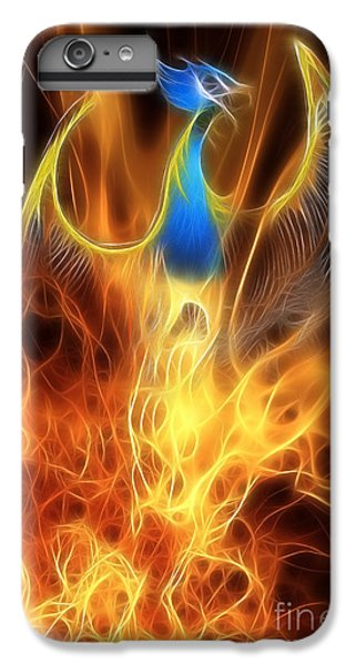 Dragon iPhone 6s Plus Case - The Phoenix Rises From The Ashes by John Edwards