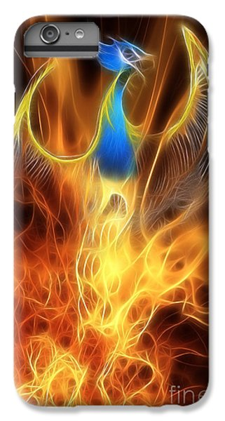 The Phoenix Rises From The Ashes IPhone 6s Plus Case by John Edwards