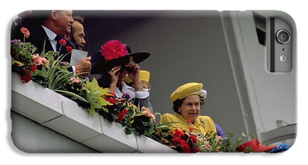 The Queen At Derby Day 1988 IPhone 6s Plus Case