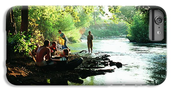 IPhone 6s Plus Case featuring the photograph The River by Dubi Roman