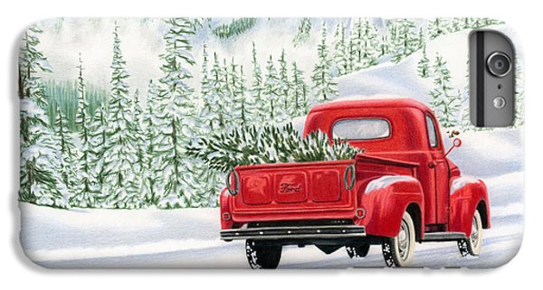 Truck iPhone 6s Plus Case - The Road Home by Sarah Batalka