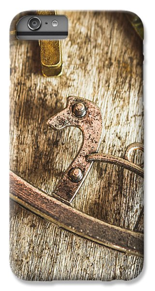 Pendant iPhone 6s Plus Case - The Rusted Toy Horse by Jorgo Photography - Wall Art Gallery