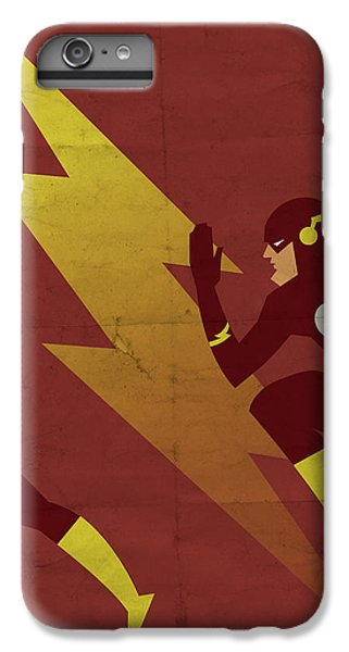 Scarlet iPhone 6s Plus Case - The Scarlet Speedster by Michael Myers