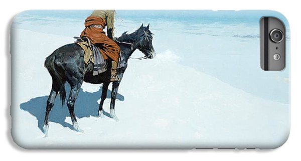 Horse iPhone 6s Plus Case - The Scout Friends Or Foes by Frederic Remington