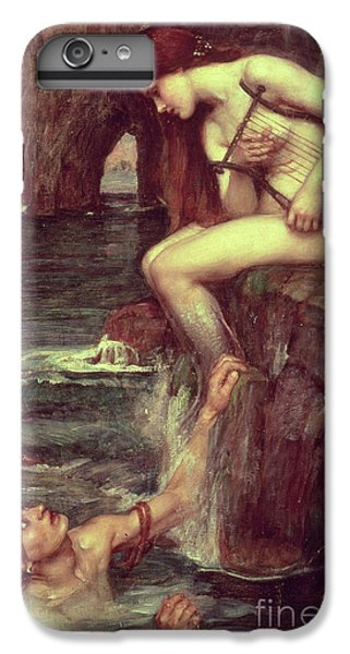 Extinct And Mythical iPhone 6s Plus Case - The Siren by John William Waterhouse