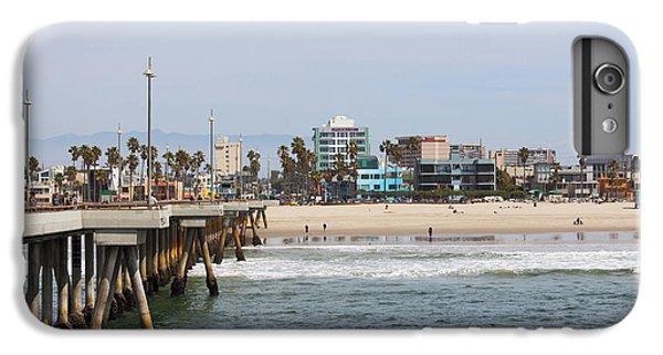Venice Beach iPhone 6s Plus Case - The South View Venice Beach Pier by Ana V Ramirez