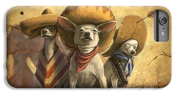 Prairie Dog iPhone 6s Plus Case - The Three Banditos by Sean ODaniels