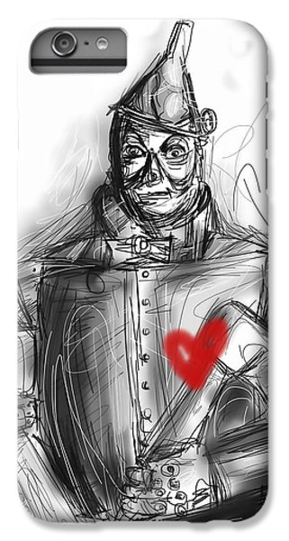 Wizard iPhone 6s Plus Case - The Tin Man by Russell Pierce