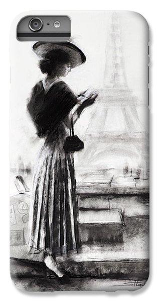 Eiffel Tower iPhone 6s Plus Case - The Traveler by Steve Henderson