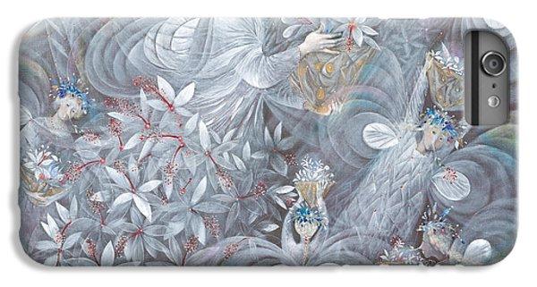 Flower Fairy iPhone 6s Plus Case - The White Hibiscus by Annael Anelia Pavlova