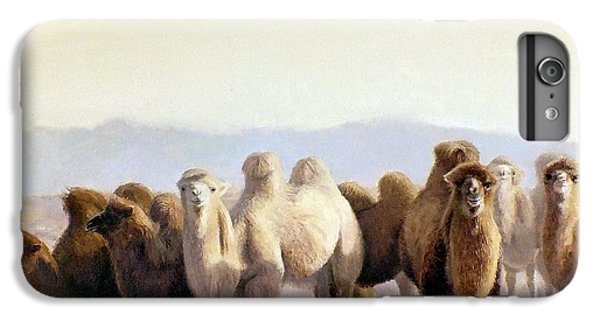 Camel iPhone 6s Plus Case - The Winter Solstice by Chen Baoyi
