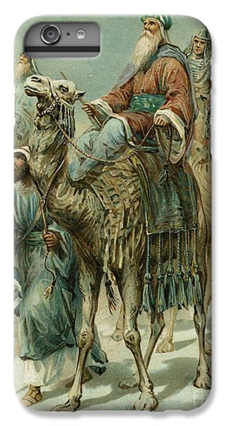 Camel iPhone 6s Plus Case - The Wise Men Seeking Jesus by Ambrose Dudley