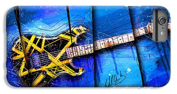 Van Halen iPhone 6s Plus Case - The Yellow Jacket by Gary Bodnar