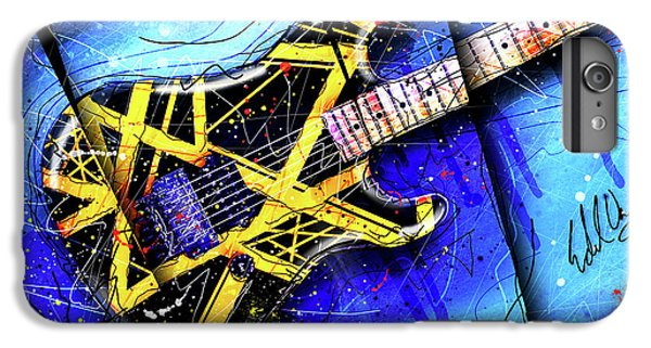 Van Halen iPhone 6s Plus Case - The Yellow Jacket_cropped by Gary Bodnar
