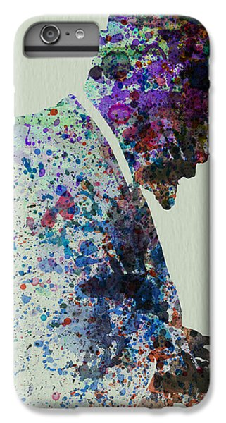 Saxophone iPhone 6s Plus Case - Thelonious Monk Watercolor 1 by Naxart Studio