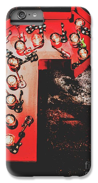 Rock And Roll iPhone 6s Plus Case - This Way To Rock City by Jorgo Photography - Wall Art Gallery