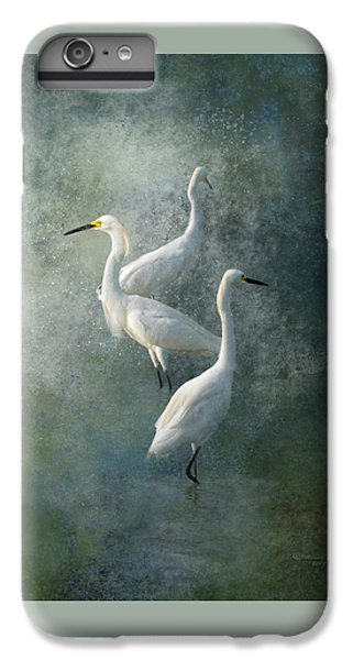 Egret iPhone 6s Plus Case - Three Of A Kind by Marvin Spates