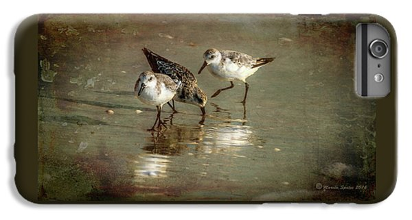 Sandpiper iPhone 6s Plus Case - Three Together by Marvin Spates
