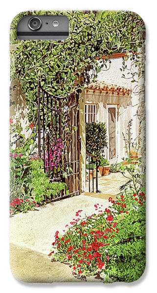 Through The Garden Gate IPhone 6s Plus Case