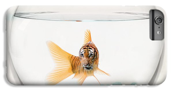 Tiger Fish IPhone 6s Plus Case by Juli Scalzi