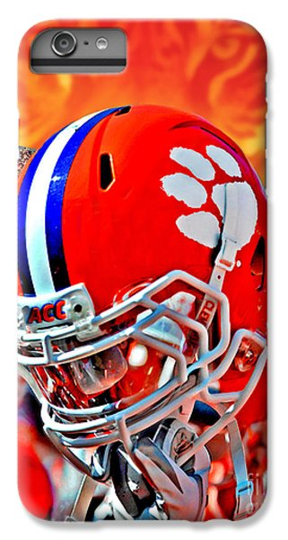 Clemson iPhone 6s Plus Case - Tiger Pride Iphone Galaxy Cover by Jeff McJunkin