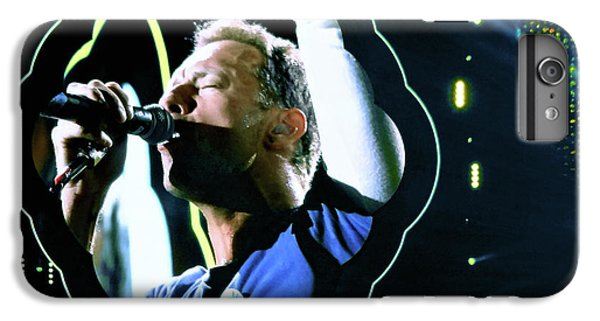 Coldplay iPhone 6s Plus Case - Chris Martin - A Head Full Of Dreams Tour 2016  by Tanya Filichkin