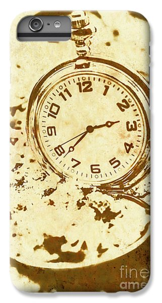 Time Worn Vintage Pocket Watch IPhone 6s Plus Case