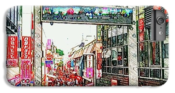 Harajuku IPhone 6s Plus Case by Daisuke Kondo