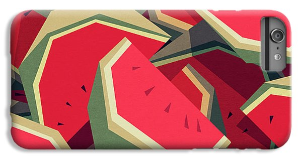 iPhone 6s Plus Case - Too Many Watermelons by Yetiland