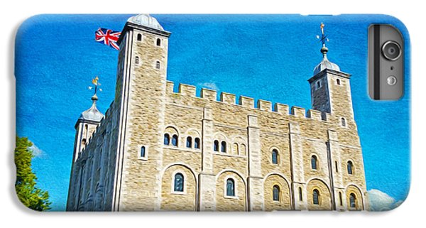 Tower Of London iPhone 6s Plus Case - Tower Of London by Laura D Young