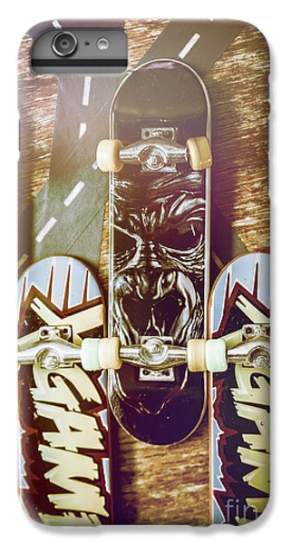 Truck iPhone 6s Plus Case - Toy Skateboards by Jorgo Photography - Wall Art Gallery
